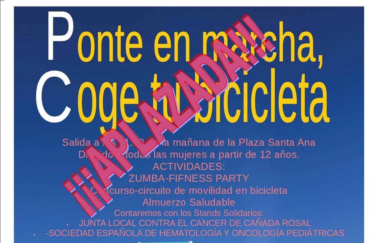CARTEL SUSPENSION MARCHA BICI 2